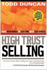 Sales Book Review High Trust Selling